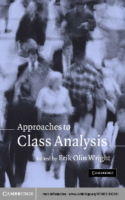 Approaches to Class Analysis, Erik Olin Wright