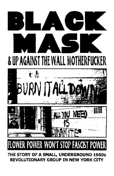 Black Mask Pamphlet Short History