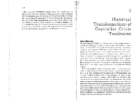 Historical transformations of capitalist crisis tendencies, by Wright