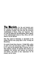 The Marxists- edited by C. W. Mills