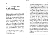 The class structure of advanced capitalist societies by Wright