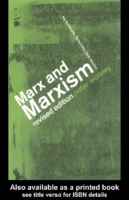 Marx_and_Marxism, by Peter Worsley