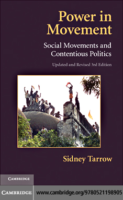 Power in Movement. Social movements and contentious politics, by Sidney Tarrow