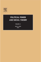 Political Power and Social Theory-by Diane  E. Davis