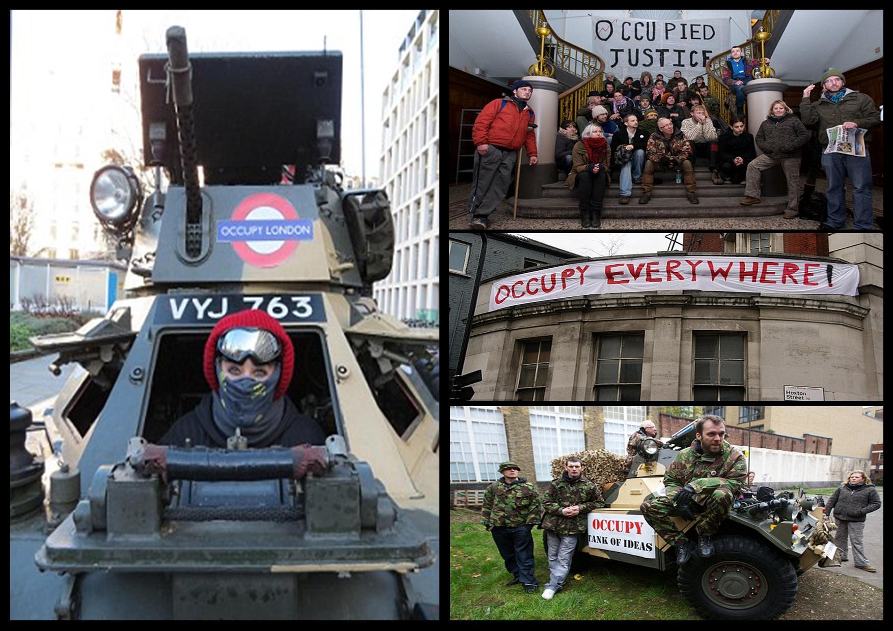 occupy-london-tank