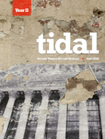 TIDAL issue 3- Occupy Anniversary