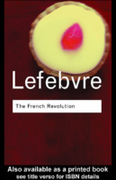 The French Revolution-by George Lefebvre