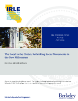The Local in the Global-Rethinking Social Movements in the new millenium-by Kim Voss-Michelle Williams